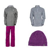 The North Face Inlux Insulated Jacket & The North Face Thermoball Pant Women's Outfit, , medium