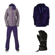 The North Face Point It Down Hybrid Jacket & The North Face Farrows Pant Women's Outfit, , medium
