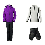 Obermeyer Zermatt Jacket & Obermeyer Warrior Pant Women's Outfit, , medium
