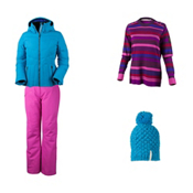 Obermeyer Cascade Down Jacket & Obermeyer Malta Pant Women's Outfit, , medium