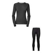 The North Face Warm L/S Crew Neck Long Underwear Top & The North Face Warm Tight Long Underwear Bottom Womens Baselayer Outfit, , medium
