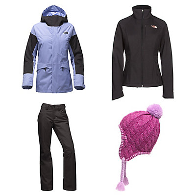 The North Face Crosstown Jacket & The North Face Aboutaday Pants Womens Outfit, , large