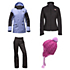 The North Face Crosstown Jacket & The North Face Aboutaday Pants Womens Outfit