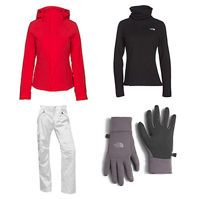 The North Face Powdance Jacket & The North Face Freedom LRBC Pants Womens Outfit, , large