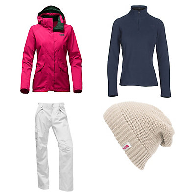The North Face Thermoball Snow Triclimate Jacket & The North Face Freedom LRBC Pants Womens Outfit, , large