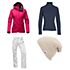 The North Face Thermoball Snow Triclimate Jacket & The North Face Freedom LRBC Pants Womens Outfit