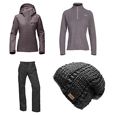 The North Face Helata Triclimate Jacket & The North Face Freedom LRBC Pants Womens Outfit, , large