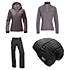 The North Face Helata Triclimate Jacket & The North Face Freedom LRBC Pants Womens Outfit