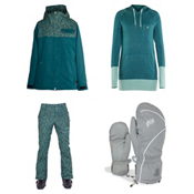 Armada Abbey Jacket & Armada Shadow Pants Womens Outfit, , medium