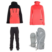 Armada Stadium Jacket & Armada Lenox Insulated Pants Womens Outfit, , medium