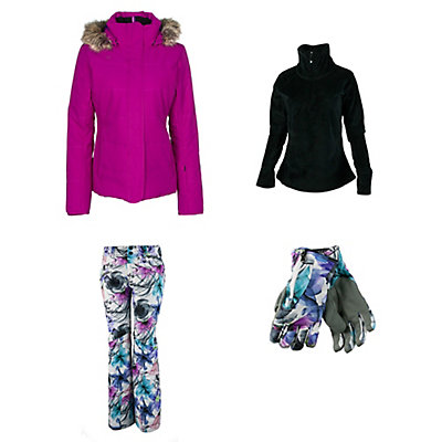 Obermeyer Tuscany Jacket & Obermeyer Malta Pants Womens Outfit, , large