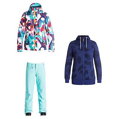 Roxy Jetty Jacket & Roxy Backyard Pants Womens Outfit, , large