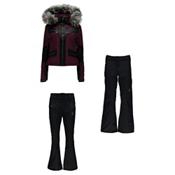 Spyder Emerald Jacket & Spyder Strut Softshell Pants Womens Outfit, , medium
