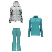 Spyder Moxie Jacket & Spyder Me Tailored Fit Pants Womens Outfit, , medium