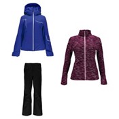 Spyder Project Jacket & Spyder Winner Athletic Fit Pants Womens Outfit, , medium