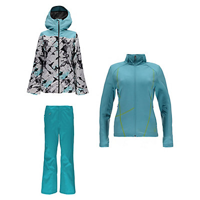 Spyder Syncere Jacket & Spyder Winner Athletic Fit Pants Womens Outfit, , large
