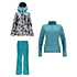 Spyder Syncere Jacket & Spyder Winner Athletic Fit Pants Womens Outfit