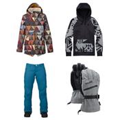 Burton Prowess Jacket & Burton Society Pants Womens Outfit, , medium