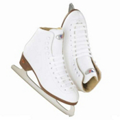 Riedell 10 J Kids Figure Ice Skate Girls Figure Ice Skates, , medium