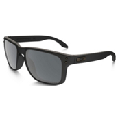 Oakley Holbrook Polished Black Sunglasses, Matte Black, medium