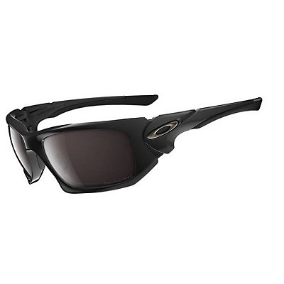 Oakley Polarized Scalpel Polished Black Sunglasses, , large