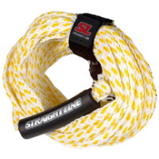 Straight Line Supreme 3 Person Towable Tube Rope 2015, Yellow-White, medium