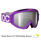 POC Iris X Small Goggles 2013, Purple-Clear Silver Mirror, medium