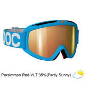 POC Iris X Small Goggles 2013, Blue-Persimon Red Mirror, medium