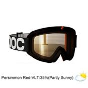 POC Iris X Small Goggles, Black-Persimon Red Mirror, medium