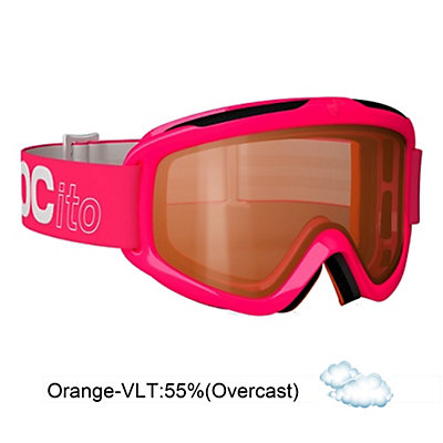 POC POCito Iris Kids Goggles 2016, Flourescent Orange-Orange, large