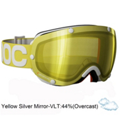 POC Lobes Goggles 2013, Yellow-Yellow Silver Mirror, medium