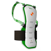 POC Ergo Bug Spine Protector - Adult 2013, White-Green, medium