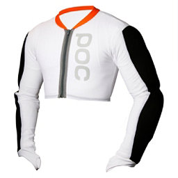 POC Full Arm Jacket - Adult, White-Black, 256