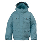 Burton Twist Bomber Girls Snowboard Jacket, Robins Egg, medium