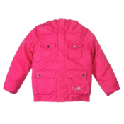 Burton Twist Bomber Girls Snowboard Jacket, Thinkin Pink, medium
