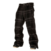 Bonfire Baker Mens Snowboard Pants, Black-Onyx, medium
