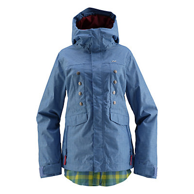 Foursquare Tobin Womens Shell Snowboard Jacket, , large