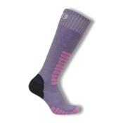 Euro Sock Supreme Girls Ski Socks, Lilac, medium