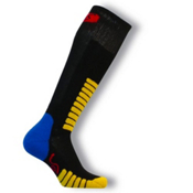Euro Sock Ski Supreme Kids Ski Socks, Black, medium