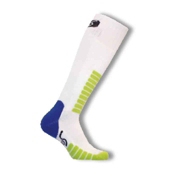 Euro Sock Ski Supreme Kids Ski Socks, White, medium