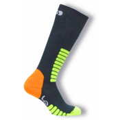 Euro Sock Ski Supreme Kids Ski Socks, Anthracite, medium