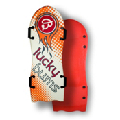 Lucky Bums Snow Kids 52in Foam Sled, Red Graphic, medium