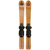 Lucky Bums Heirloom Wooden Kids Skis 2013, , medium