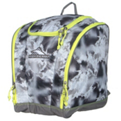 High Sierra Trapezoid Ski Boot Bag, Thunderstruck-Charcoal-Zest, medium