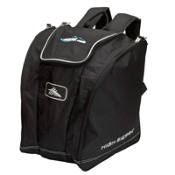 High Sierra Trapezoid Ski Boot Bag, Black, medium