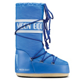 Tecnica Nylon MoonBoot Womens Boots, Azure, medium