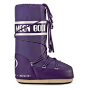 Tecnica Nylon MoonBoot Womens Boots, Violet, medium
