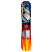 Emsco Freeride Blue Dragon Blem Plastic Snowboard, , medium