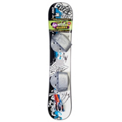 Emsco Freeride Graffiti Plastic Snowboard, , medium