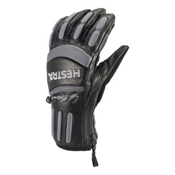 Hestra Seth Morrison Pro Gloves, Black-Grey, medium